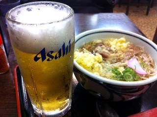生ビールもあります