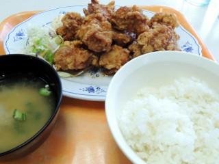 メガザンタレ定食