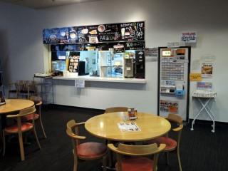 観光物産情報センター内奥に店はあります